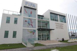 Oficinas de la Federación Panameña de Fútbol. Foto:Archivo
