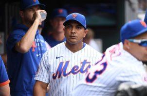 Luis Rojas. Foto:MLB