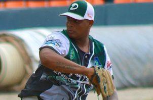 Luis Ramos, lanzador de Darién: Foto: Fedebeis