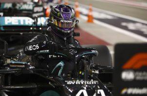Lewis Hamilton, es líder del Campeonato de  Fórmula Uno. Foto:EFE