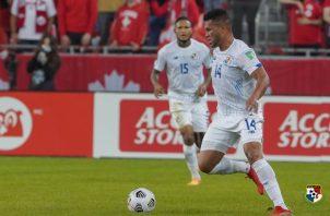 Rolando 'Toro' Blackburn anotó el gol de Panamá. Foto:Fepafut