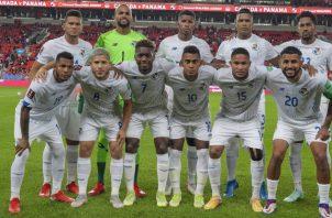 Selección de Panamá que enfrentó a Canadá. Foto:Fepafut