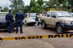 Luego del homicidio llegó al lugar personal de investigación del Ministerio Público. Foto: Eric Montenegro