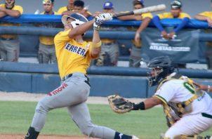 Herrera se impuso a Panamá Oeste ayer por pizarrra de 7-5. Foto: Fedebeis