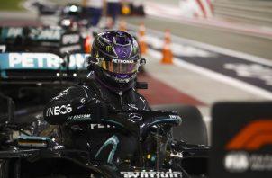Lewis Hamilton, piloto de Fórmula Uno. Foto:EFE
