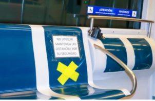 El Metro de Panamá refuerza medidas de seguridad contra el COVID-19.