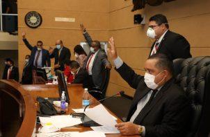 El proyecto, que busca que las sesiones del pleno se hagan virtuales, fue presentado por el presidente de la Asamblea Nacional.