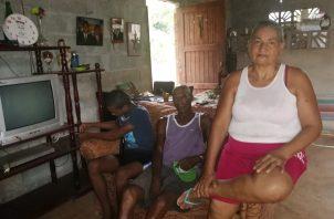 En medio de la crisis generada por el COVID-19, familia del sector de Los Velardes en el Coco de La Chorrera pide ayuda.