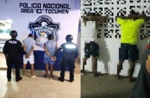El martes 14 de abril 32 menores de edad fueron retenidos mientras deambulaban en las calles, informó el Ministerio de Seguridad Pública. Foto: Policía Nacional.