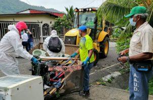 Unos 25 recolectores participaron en esta jornada de limpieza.