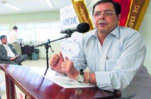 El exdirector de la DGI, Luis Cucalón, está detenido desde el 2014 en el Centro de Rehabilitación El Renacer.