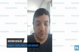 Luis Cucalón hijo, garante domiciliario del exdirector de Ingresos, Luis Cucalón