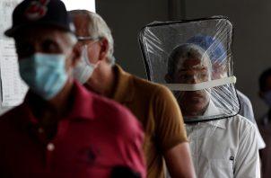 La provincia con más contagios de coronavirus es Panamá, con 5.476. Foto EFE
