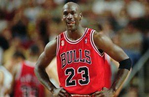 Michael Jordan con los Bulls de Chicago. Foto: AP