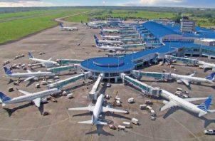Copa Airlines cuenta con una flota de 78 aviones, alrededor de 5,700 trabajadores. Archivo