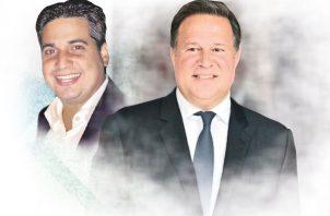 Raúl Sandoval y Juan Carlos Varela.