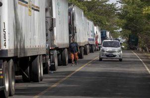 El bloqueo persiste, al igual que en la otra frontera, donde el Gobierno de Nicaragua cerró su lado también como protesta. FOTO/EFE