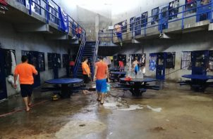 Las jornadas de limpiezas son constantes en los centros penitenciarios del país.