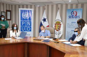 El convenio se firmó hoy en el Municipio de Panamá.