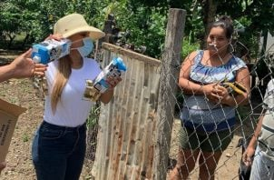 Salvoconducto a Sandra Sandoval genera polémica en Tonosí.