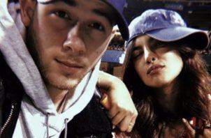 Nick Jonas y Priyanka Chopra. Instagram