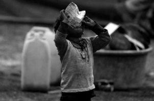 Es un virus que ya antes de la crisis sanitaria se ensañaba con los niños y adolescentes del país, haciendo que uno de cada tres de ellos se encontrara en condiciones de pobreza multidimensional. Foto: Archivo. Epasa.