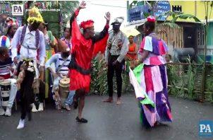 Baile Congo. Mes de la Etnia Negra.