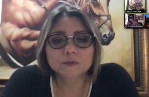 """La ministra Doris Zapata reconoció que le """"preocupa mucho"""" la informalidad en el país."""