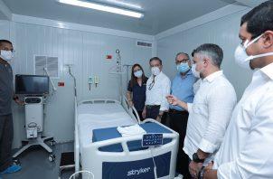 La construcción del Hospital Integral Panamá Solidario se terminó en menos de 30 días.