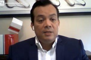 Juan Carlos Araúz, presidente del Colegio Nacional de Abogados.