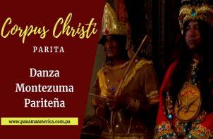 Danza Montezuma Pariteña.