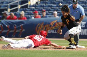 El béisbol de la carpa grande fue detenido por el COVID-19. Foto: AP