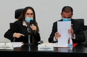 La diputada Zulay Rodríguez es la proponente del Proyecto de Ley No. 287 sobre moratoria. Foto Asamblea Nacional