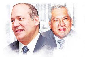 Harry Díaz y Abel Zamorano.