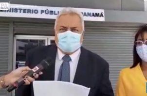 Alejandro Pérez, abogado.