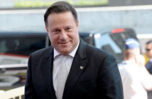 Juan Carlos Varela, expresidente de la República. Archivo