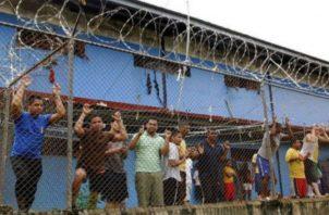 El hacinamiento en las cárceles del país es un problema. Archivo