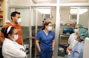 La exministra de Salud había sostenido varias diferencias con el presidente Laurentino Cortizo.