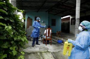Veinte corregimientos en Panamá y Panamá Oeste concentran más de 500 casos de la COVID-.19. Foto Archivos