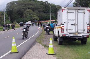 El cuerpo en descomposición perteneciente a Octavio Váldes, de 64 años, residente en San José distrito de Cañazas, fue ubicado la madruga del miércoles por unidades del Sistema Nacional de Protección Civil a varios kilómetros aguas abajo en el río Cobre.