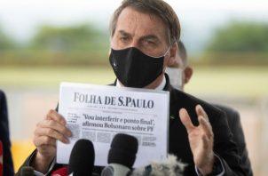 El mandatario sigue negando la gravedad de la pandemia. Foto: Archivo/Ilustrativa.