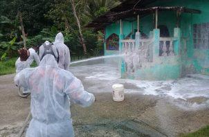 La fase de sanitización va en aumento en la provincia de Colón.