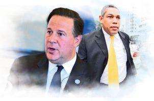 Juan Carlos Varela y Ricardo Garay.