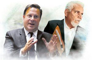 Juan Carlos Varela y Jaime Lasso.