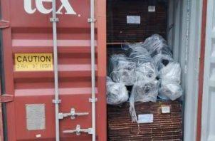 Las autoridades de investigación judicial y policial, han iniciado los análisis para tratar de dar, con las personas que contaminaron el contenedor.