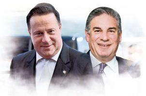 Juan Carlos Varela y Juan Antonio Niño.