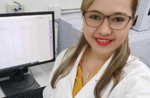 Lourdes Arjona es egresada de la Universidad de Panamá. Foto: Cortesía