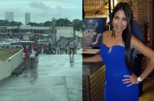 Francy Pérez, una de las víctimas de la explosión de Ph Mystic Tower, en Río Abajo.