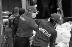 Son personas que han dejado de lado su seguridad sanitaria, horas de descanso y atención a sus familias, para llevar alimentos a miles de personas en cada región de nuestro Panamá. Foto: Cortesía.