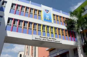 El Hospital del Niño ha atendido 112 casos de la COVID-19.